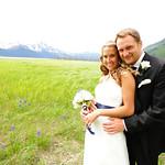 Girdwood Wedding: Kelly & Brody Around Girdwood by Heather Thamm