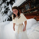 Girdwood Wedding: Carolyn & Scott at Raven Glacier Lodge