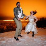 Girdwood Wedding: Carolyn & Scott in Downtown Anchorage
