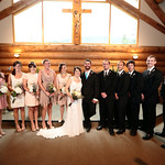 Girdwood Wedding: Katelyn & Brad at Our Lady of the Snows Chapel
