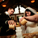 Girdwood Wedding: Kathleen & Byron at Our Lady of the Snows