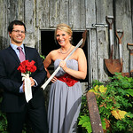 Girdwood Wedding: Laura & Keith at Crow Creek Mine