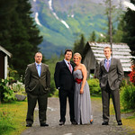 Girdwood Wedding: Laura & Keith at Crow Creek Mine