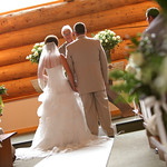 Girdwood Wedding: KC & Tucker at Our Lady of the Snows by Joe Connolly