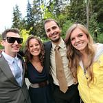 Girdwood Wedding: Megan & William at Crow Creek Mine