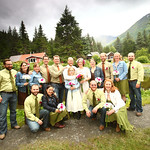 Girdwood Wedding: Chloe & Chris at Crow Creek Mine by Joe Connolly
