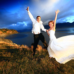 Girdwood Wedding: Rebekah & Paul Along the Seward Highway by Joe Connolly