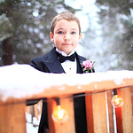 Girdwood Wedding: Renee & Jesse at Raven Glacier Lodge by Graham Thatcher