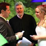 Girdwood Wedding: Serena & Jason at Winner Creek Lodge by Heather Thamm