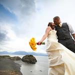 Seward Highway Wedding: Kara & Peter at Beluga Point