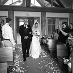 Girdwood Wedding: Anna & Matt at Our Lady of of the Snows Chapel by Joe Connolly