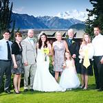 Kennicott Wedding: Jen & Todd at Kennicott Lodge by Joe Connolly