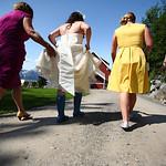 Kennicott Wedding: Jen & Todd at Kennicott Lodge by Graham Thatcher