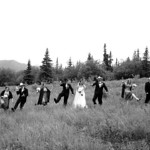 Matanuska Valley Wedding: Tara & Beau at Majestic Valley Lodge