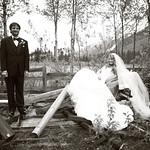 Moose Pass Wedding: Lindsay & Nicholas at the Inn at Tern Lake by Philip Casey