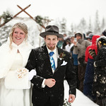 Moose Pass Wedding: Heather & Leif at The Inn At Tern Lake by Joe Connolly