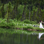 Moose Pass Wedding: Audry & Darin at the Inn at Tern Lake