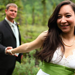 Moose Pass Wedding: Audry & Darin at the Inn at Tern Lake by Karen Hilton