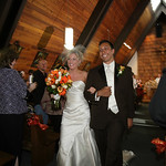 Seward Wedding: Christie & Chris at Sacred Heart Catholic by Joe Connolly