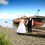 Seward Wedding: Erica & Brent at the Seward Windsong Lodge