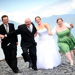 Seward Wedding: Erica & Brent at the Seward Windsong Lodge by Ralph Kristopher