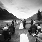 Seward Wedding: Brittany & Taylor at the Seward Windsong Lodge by Joe Connolly