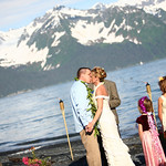 Seward Wedding: Valerie & Dan At Lowell Point by Joe Connolly