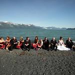 Seward Wedding: Kristin & Jeff at Lowell Point by Joe Connolly