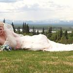Talkeetna Wedding: Ashley & Daniel at the Talkeetna Alaskan Lodge by Joe Connolly