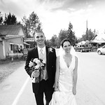 Talkeetna Wedding: Kim & Brad Around Talkeetna by Joe Connolly
