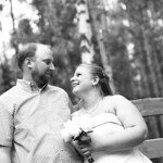 Wasilla Wedding: Jennifer & Jim at a Private Residence by Heather Thamm