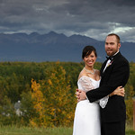Wasilla Wedding: Ellen & Travis at Settlers Bay Lodge by Joe Connolly