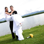 Wasilla Wedding: Elizabeth & Greg at Best Western - Lake Lucille by Joe Connolly