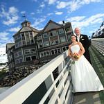 Whittier Wedding: Kim & Dave at the Inn at Whittier by Philip Casey