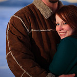 Anchorage Engagement: Travis & Katrina at Potters Marsh by Josh Martinez